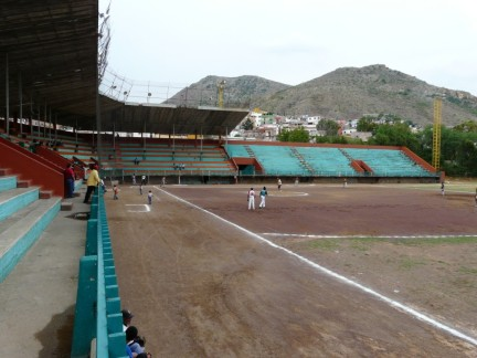 Dusty Baseball Field