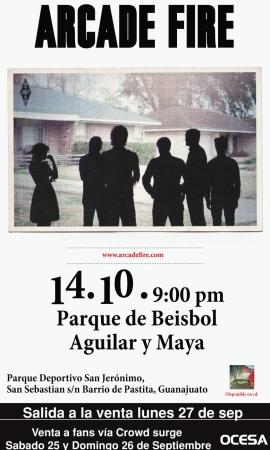 Arcade Fire Guanajuato